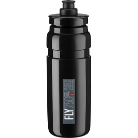 Elite Fly Team Bidón 750ml, black/grey logo